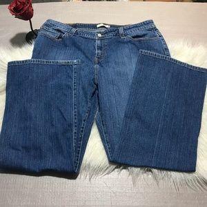 Levi's 515 blue Jeans Bootcut Size 20 Short
